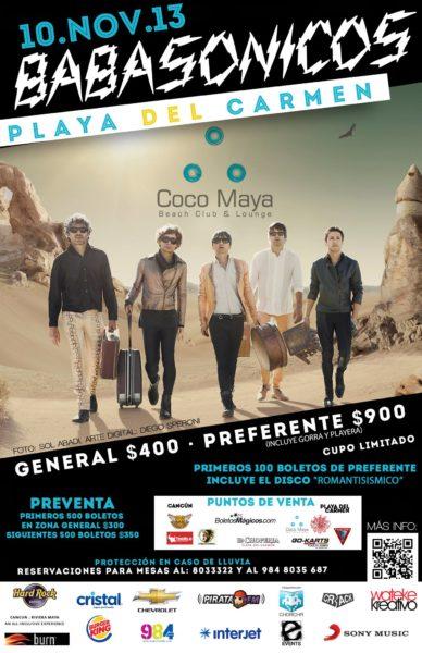 Babasonicos - Coco Maya - Playa del Carmen