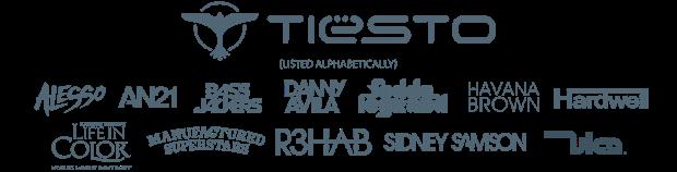 Line Up Inception Music Festival