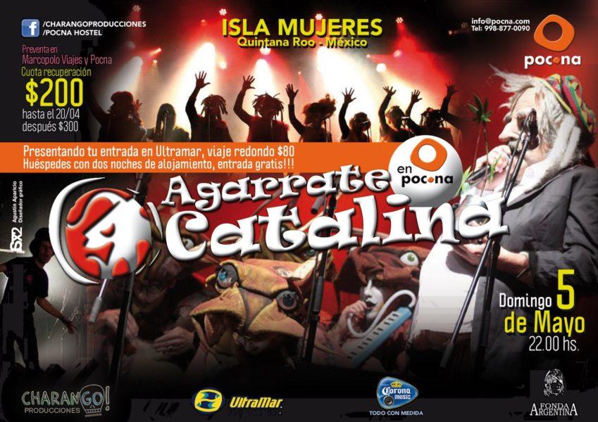agarrate-catalina-isla-mujeres-2013