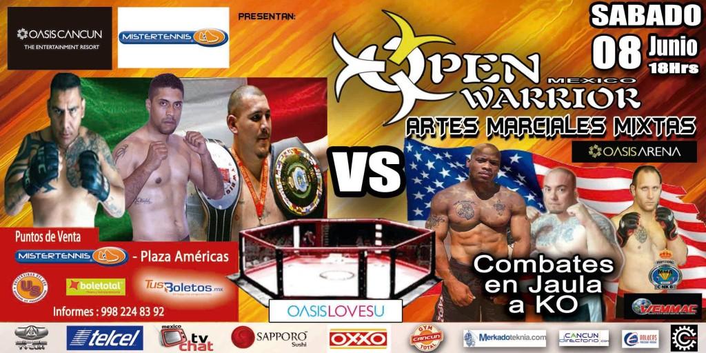 Open Warriors Mexico en Cancun - 8 de Junio 2013