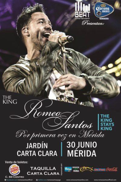 Romeo Santos Merida 2013