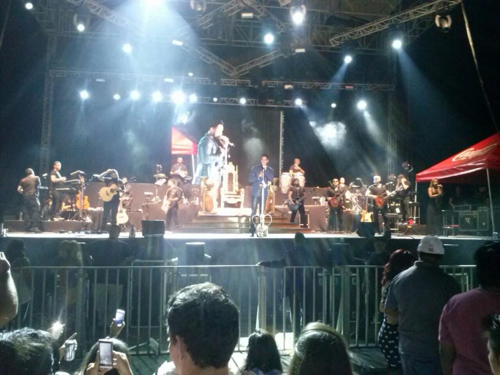 Concierto de Romeo Santos en Merida