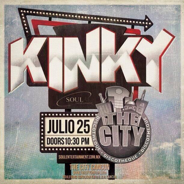 Kinky en el The City Cancun