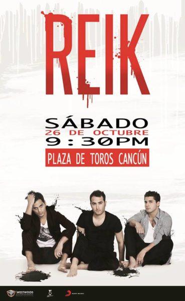 Reik en Cancun - Octubre 2013