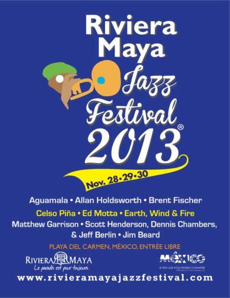 Festival Jazz de La Riviera Maya 2013