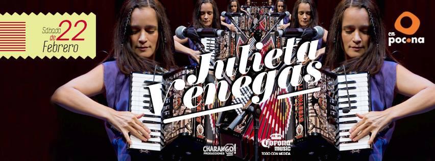 Julieta Venegas en Isla Mujeres 2014