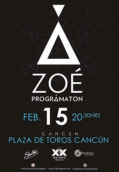 Zoe en Cancun - Febrero 2014