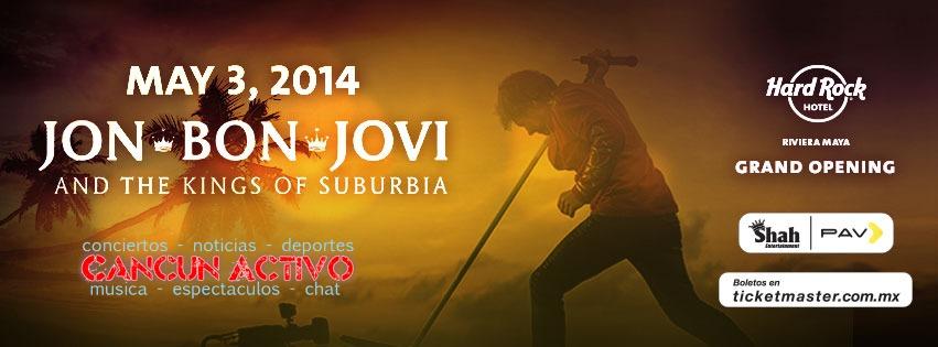 bon jovi en cancun junio 2014