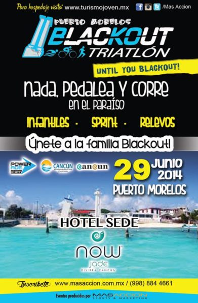 Triatlon BlackOut Quintana Roo