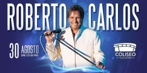 Concierto de Roberto Carlos en Merida