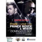 Wisin y Prince Royce en Cancun - 21 de Septiembre