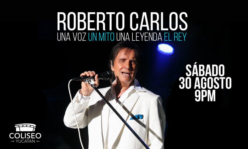 Roberto Carlos en Merida 2014