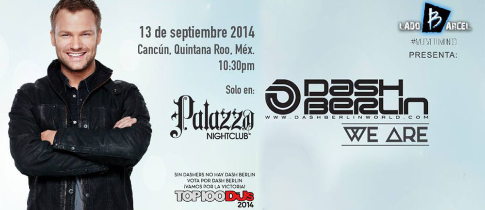 Dash Berlin en Cancun2014
