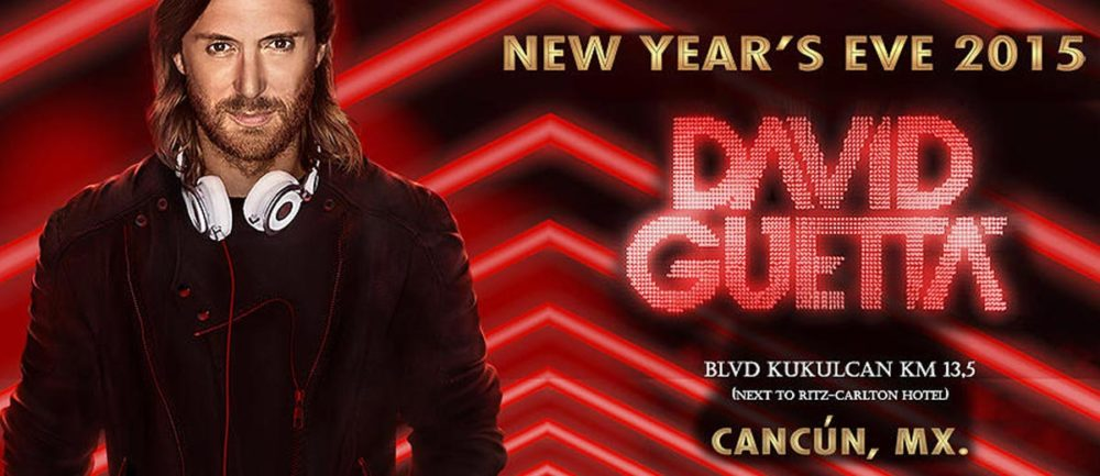 David Guetta Fin de Año en Cancun 2014