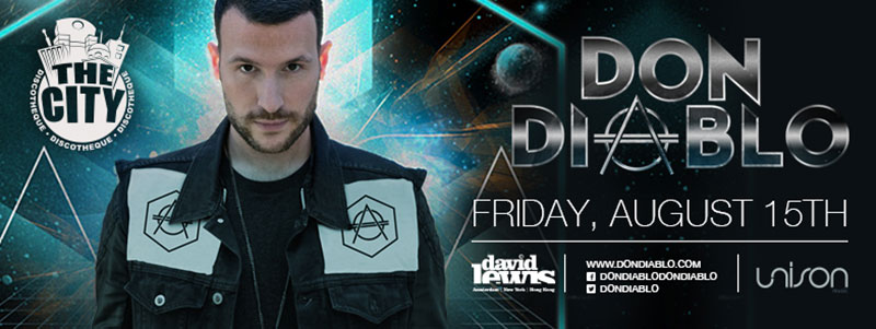 Don Diablo en Cancun