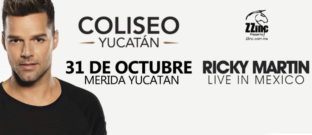 Ricky Martin en Merida 2014