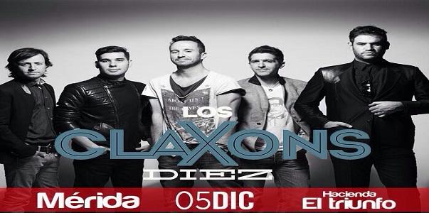 Los Claxons en Merida 2014