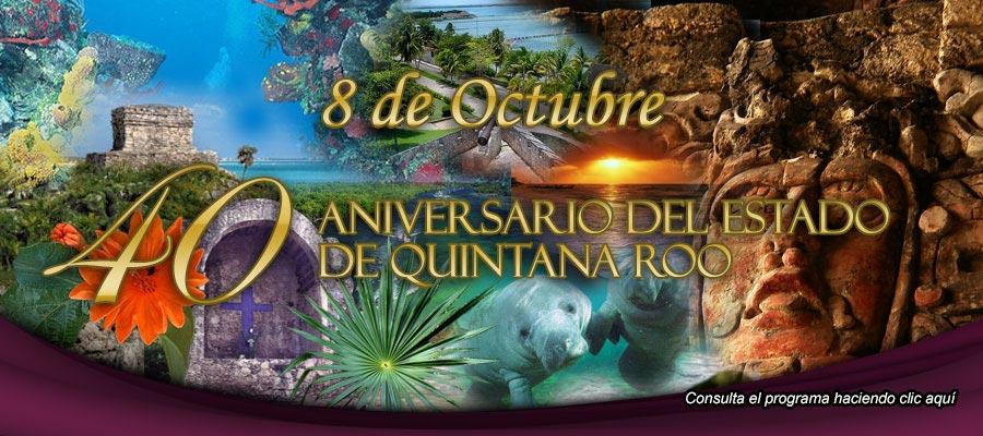 Conciertos Quintana Roo 40 Aniversario