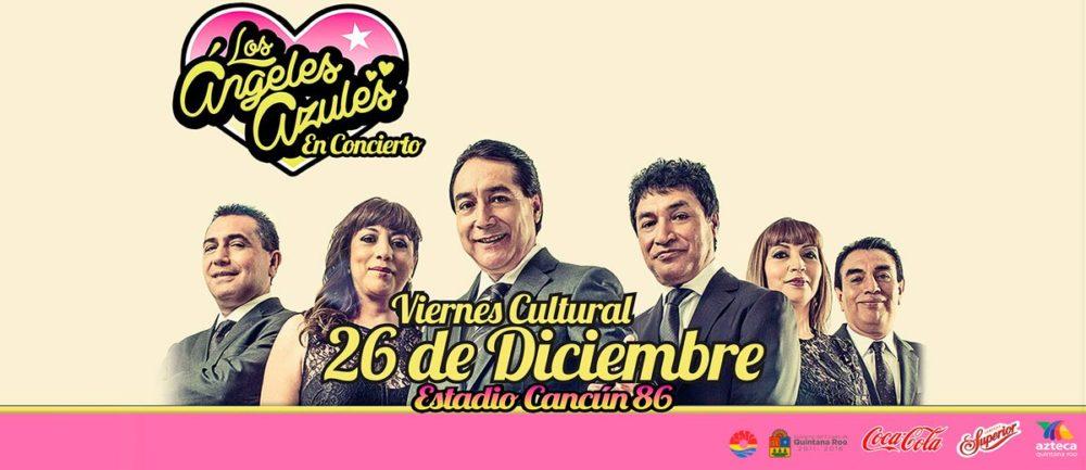 Baile en Cancun Angeles Azules Diciembre 2014