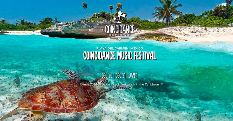 Fin de año 2014 en Playa del Carmen