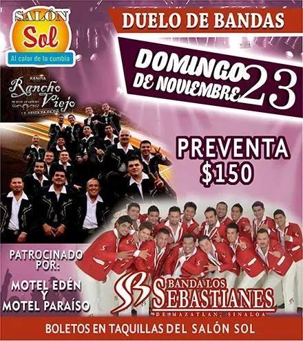 Banda Rancho Viejo en Cancun Noviembre 2014