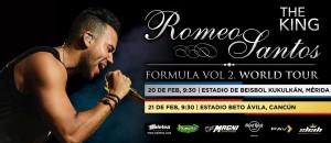 Romeo Santos en Cancun