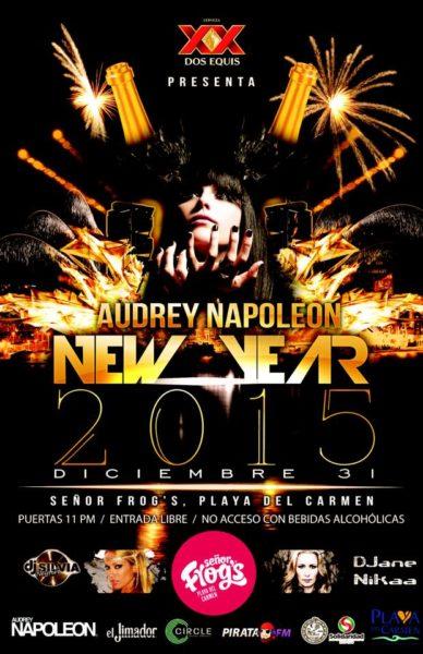 Audrey Napoleon - 31 de diciembre en Playa del Carmen