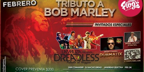 Tributo a Bob Marley en Playa del Carmen