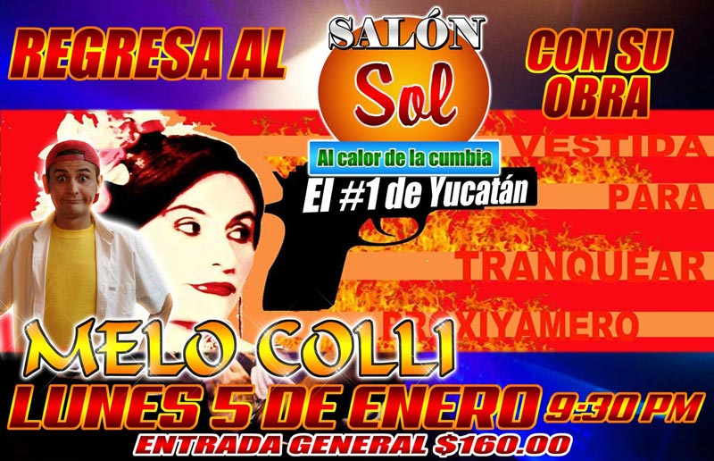 Melo Colli en Cancun - Enero 2015
