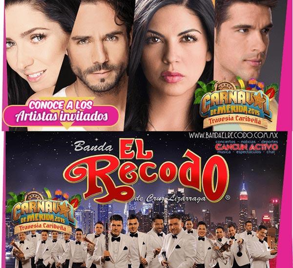 Banda el Recodo - Carnaval de Mérida