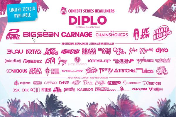 Concerts Djs Spring Break 2015