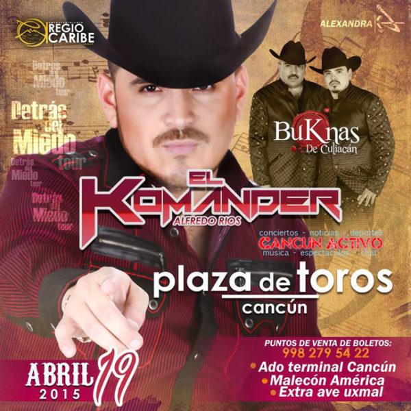 El Komander en Cancun