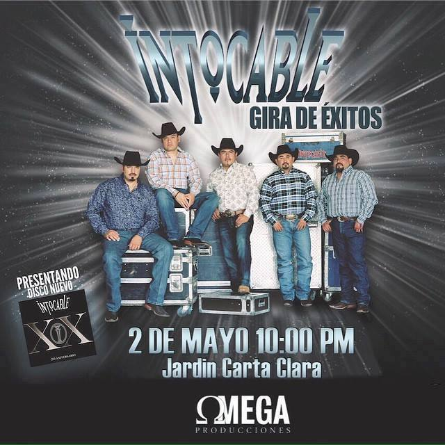 Intocable Merida 2015