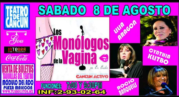 Los Monologos de la Vagina en Cancun