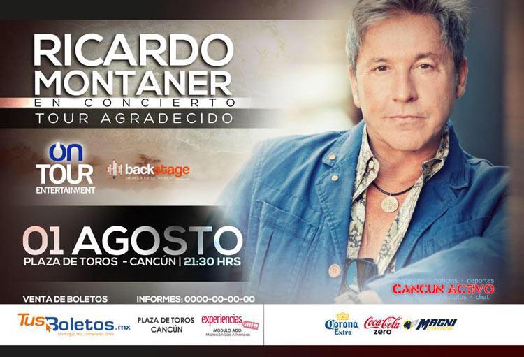 Concierto de Ricardo Montaner en Cancun