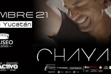 Chayanne en Mérida 2015