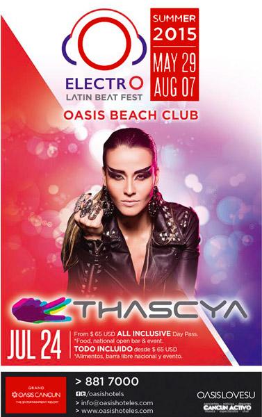 Eventos Hotel Oasis Cancun