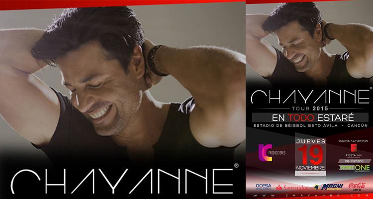 Chayanne en Cancun - 19 de Nov. 2015 - Beto Ávila