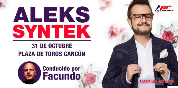 Aleks Syntek en Cancun - 31 Octubre 2015