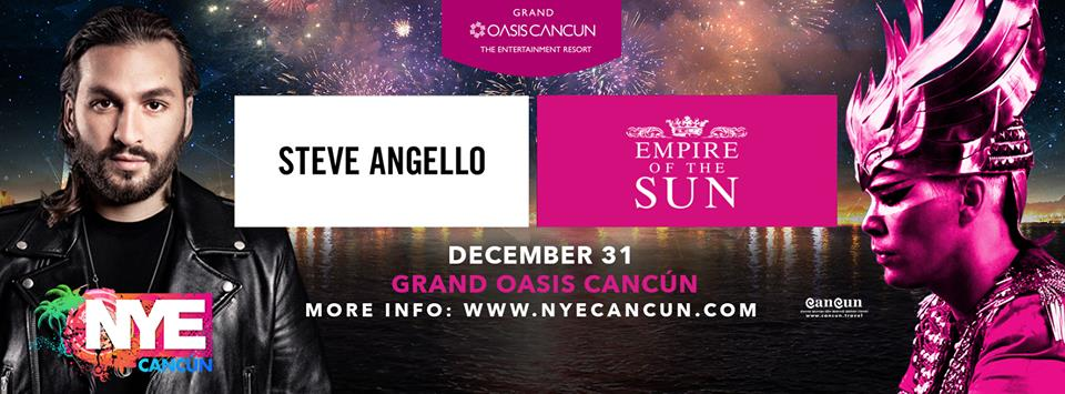 Empire Of The Sun En Cancun