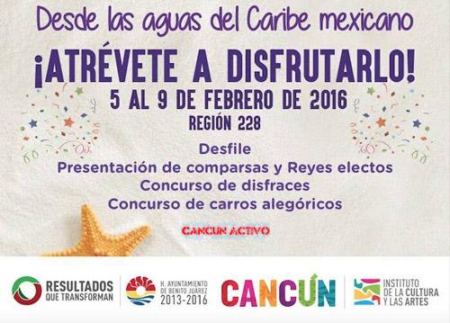 Carnaval de Cancun 2016