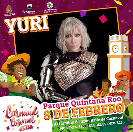 Yuri Carnaval Cozumel 2016