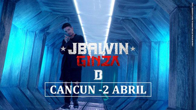 J Balvin en Cancun 2016