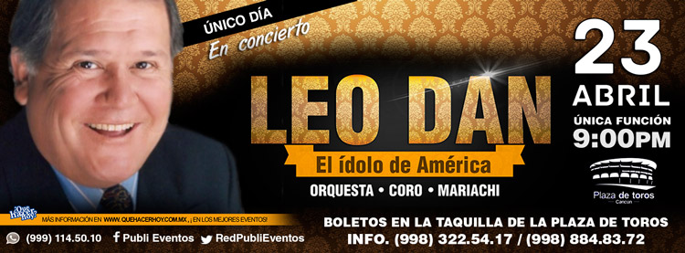 Leo Dan en Cancun 2016