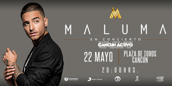 Maluma en Cancun