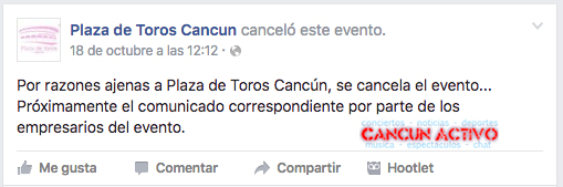 gloria trevi en cancun