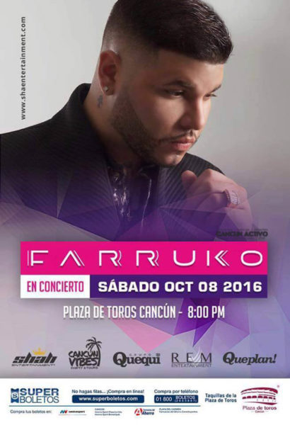 Farruko En Cancun – Visionary World Tour 2016