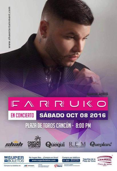 Farruko En Cancun – Visionary World Tour 2016