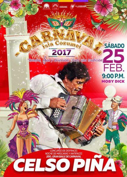 Carnaval Cozumel 2017 - 22 de febrero al 1 de marzo
