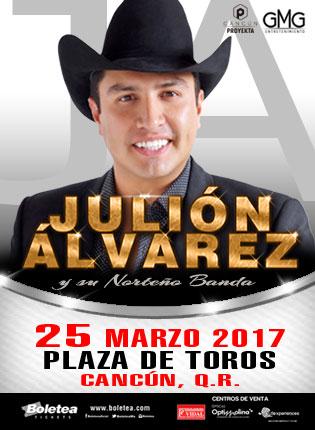 Julión Álvarez en Cancún
